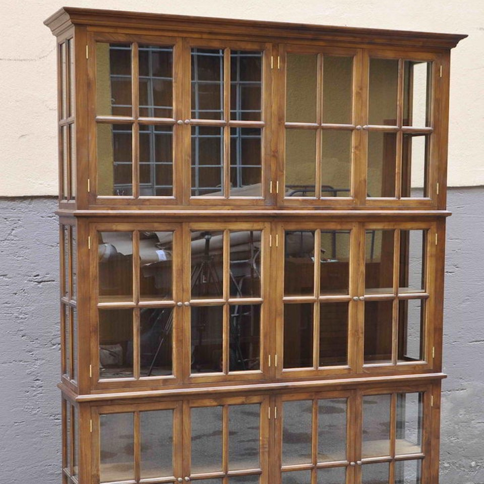 massive teak b chervitrine da vinci moebel kolonie. Black Bedroom Furniture Sets. Home Design Ideas