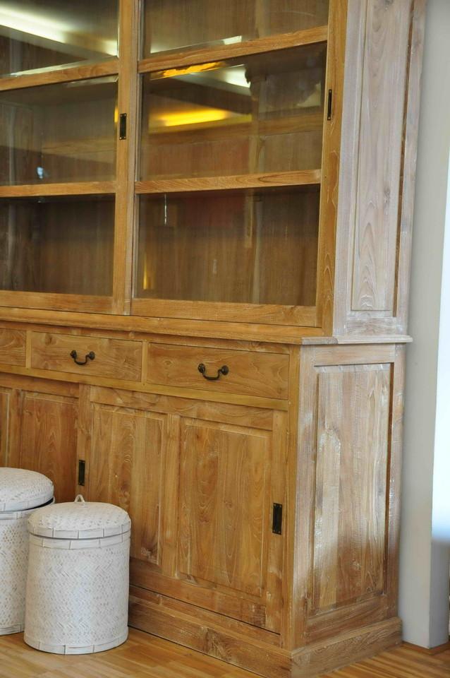 buffetschrank cab 665 aus teakholz massiv moebel kolonie. Black Bedroom Furniture Sets. Home Design Ideas