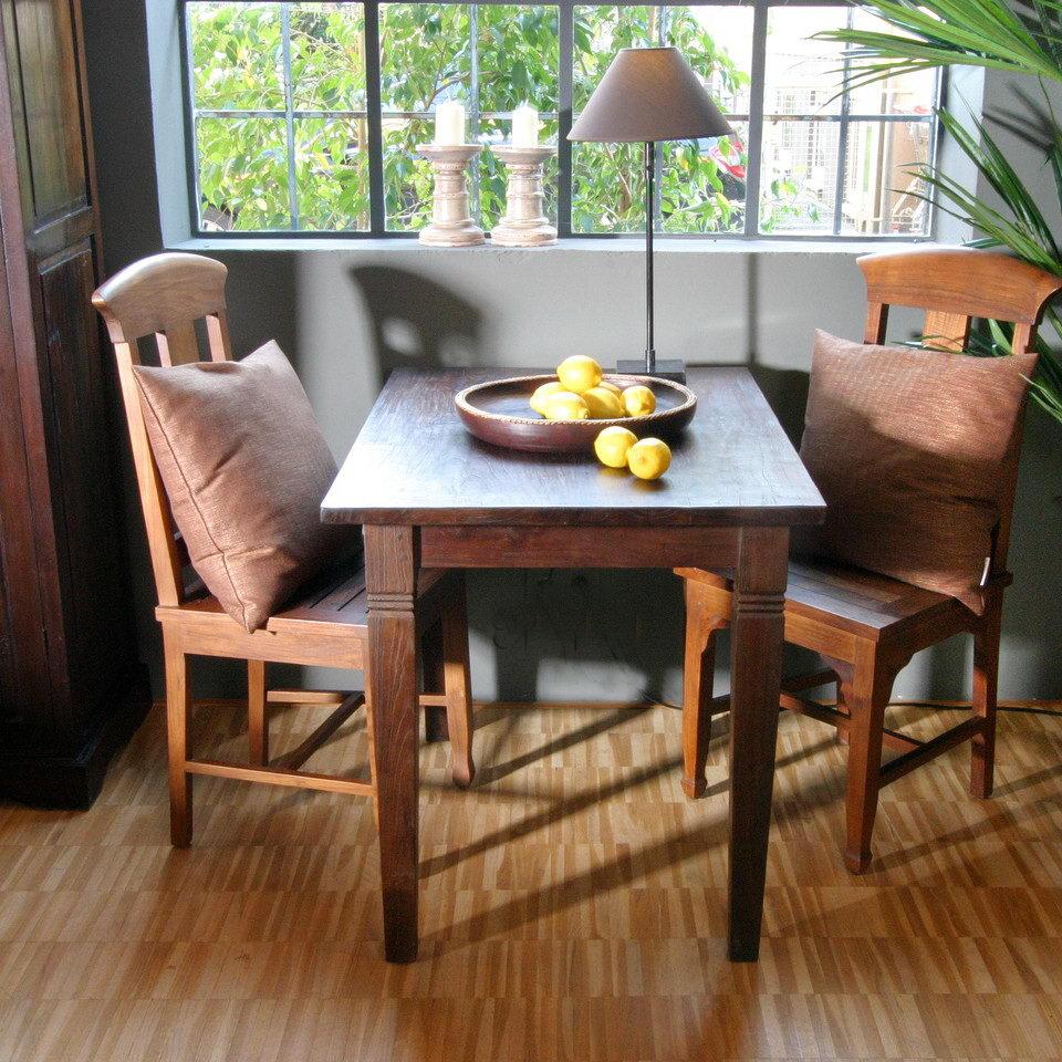esstisch classic aus teak massiv moebel kolonie. Black Bedroom Furniture Sets. Home Design Ideas