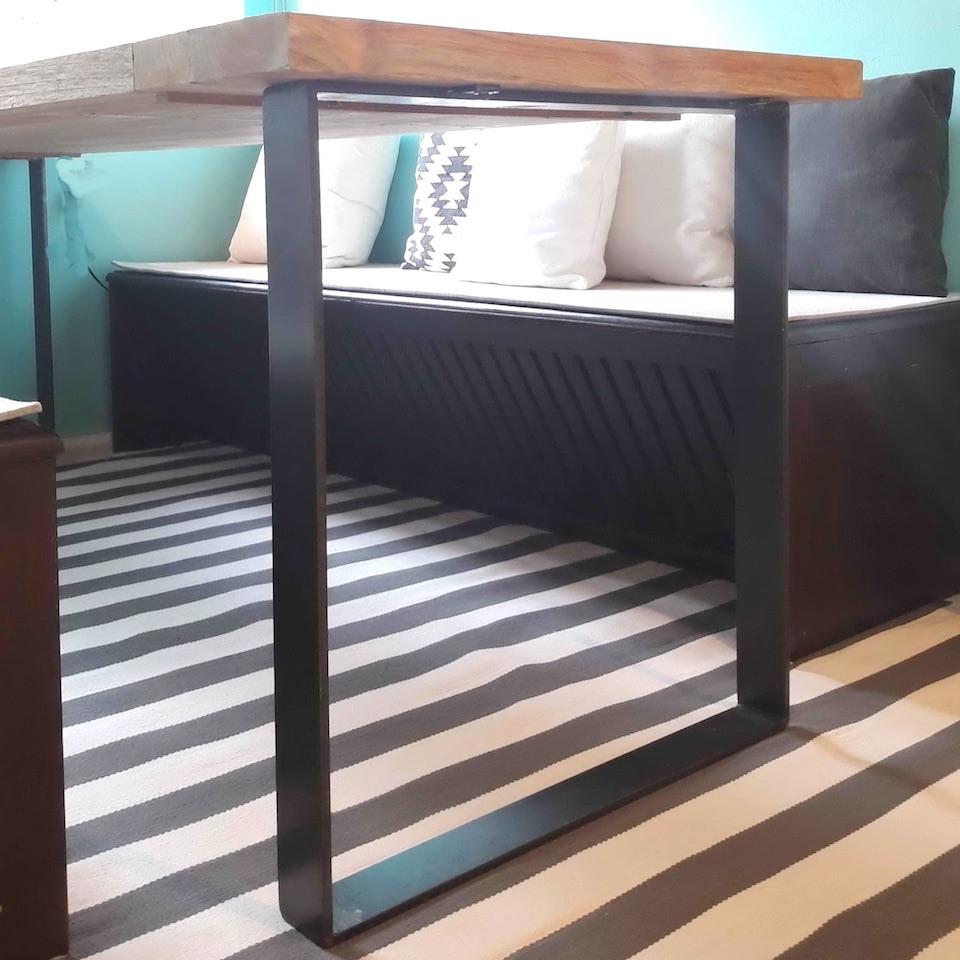 massiver teakholz esstisch antonella moebel kolonie. Black Bedroom Furniture Sets. Home Design Ideas
