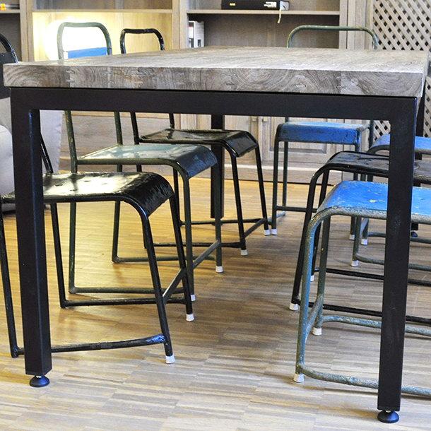 massiver teakholz esstisch toni moebel kolonie. Black Bedroom Furniture Sets. Home Design Ideas