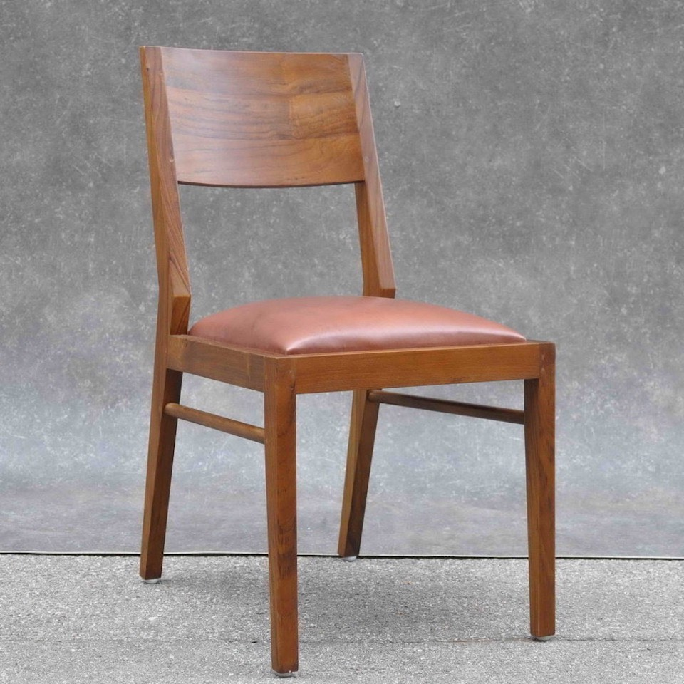 massiver teakholz stuhl tara moebel kolonie. Black Bedroom Furniture Sets. Home Design Ideas