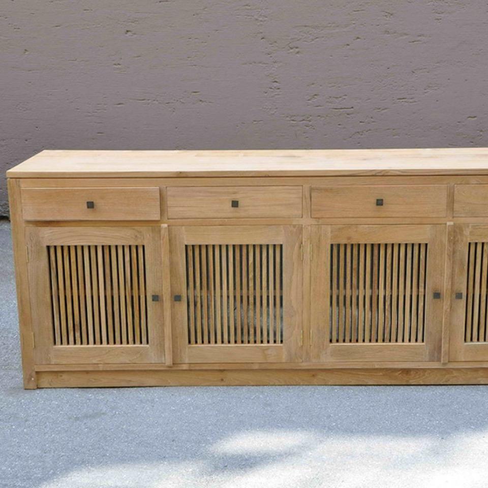 massives teak sideboard wandel moebel kolonie. Black Bedroom Furniture Sets. Home Design Ideas