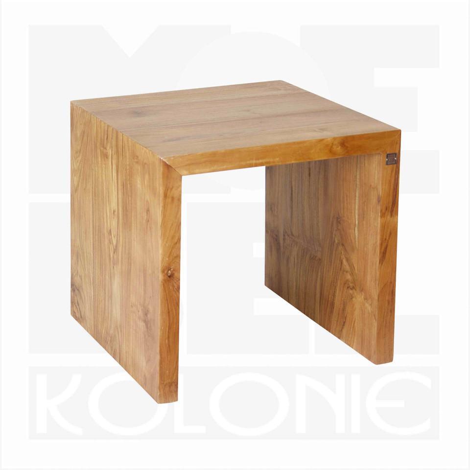 sofa oder beistelltisch u aus teakholz massiv moebel kolonie. Black Bedroom Furniture Sets. Home Design Ideas