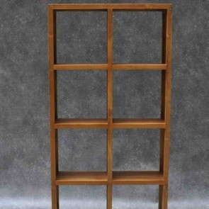 Regal Square Rack aus Teak