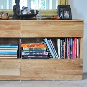 Sideboard Chris aus Teak Massivholz