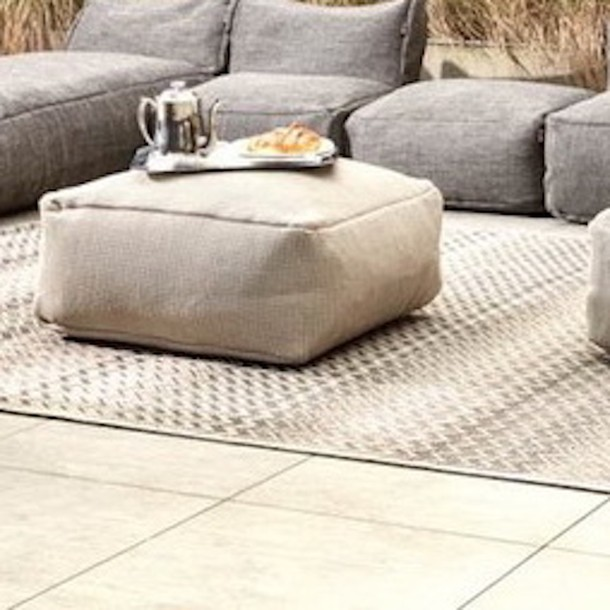 Outdoor Lounge Pouf Dotty
