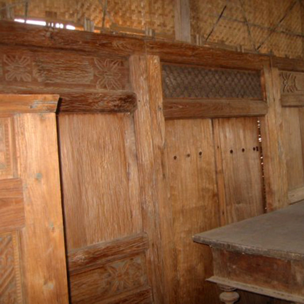 java t ren aus altem teakholz moebel kolonie. Black Bedroom Furniture Sets. Home Design Ideas