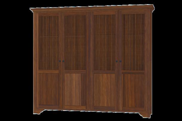 kleiderschrank tejeda mit 4 t ren moebel kolonie. Black Bedroom Furniture Sets. Home Design Ideas