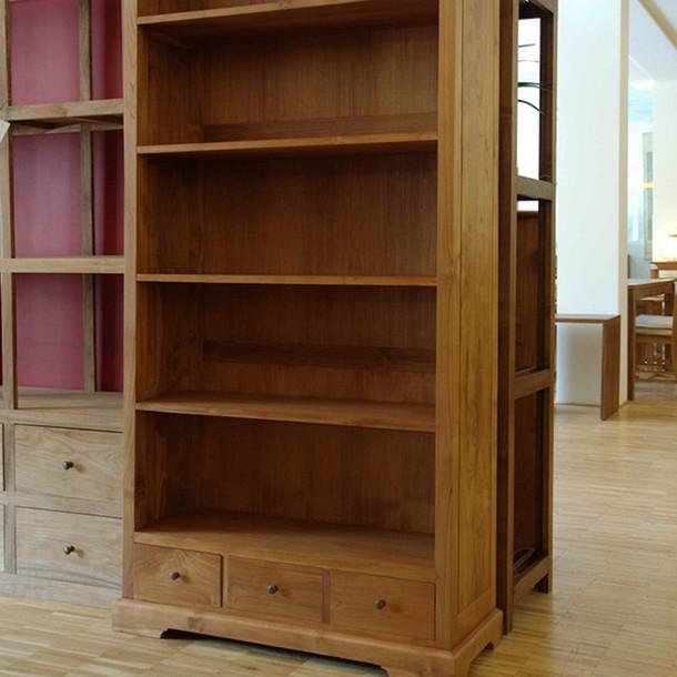 massivholz regal classic aus teak moebel kolonie. Black Bedroom Furniture Sets. Home Design Ideas