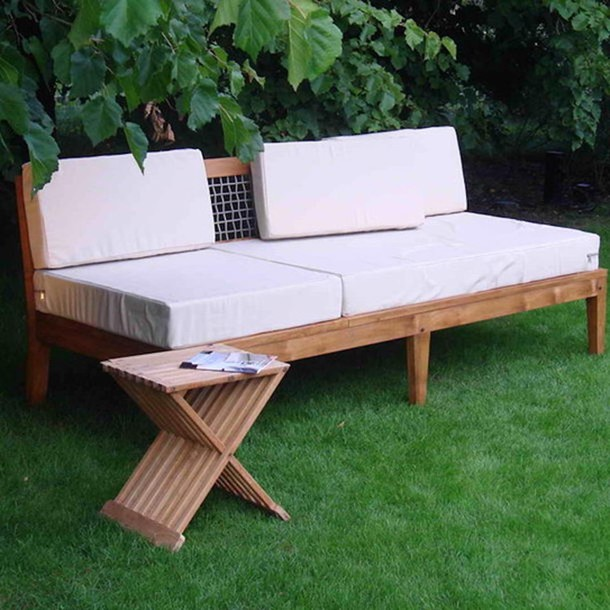 Massives outdoor sofa jardin moebel kolonie Sofa polster erneuern