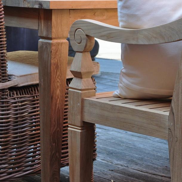 sitzbank java aus teakholz massiv moebel kolonie. Black Bedroom Furniture Sets. Home Design Ideas