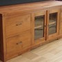 Teak massiv TV-Sideboard Luis