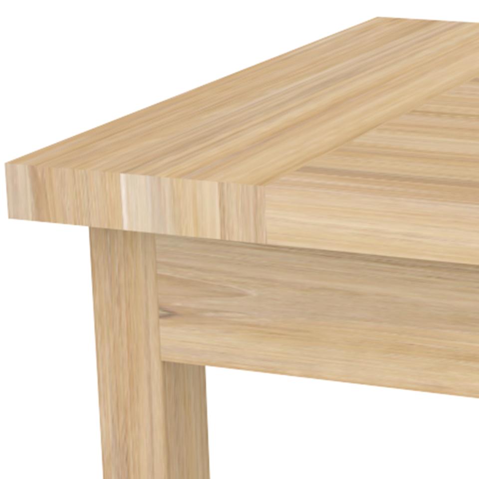 massiver gartentisch mallorca moebel kolonie. Black Bedroom Furniture Sets. Home Design Ideas